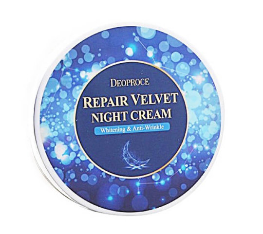Крем для лица ночной восстанавливающий DEOPROCE MOISTURE REPAIR VELVET NIGHT CREAM