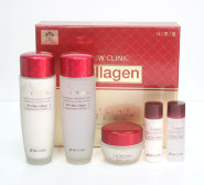 3W Clinic ЛИФТИНГ Набор для ухода за лицом Collagen Skin Care 3 Items Set