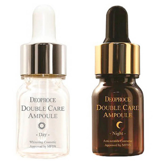 DEOPROCE Ампульная сыворотка день ночь DEOPROCE DOUBLE CARE AMPOULE DAY&NIGHT SINGLE PACK