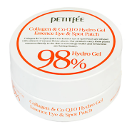 Гидрогелевые патчи Petitfee Collagen & Co Q10 Eye Patch