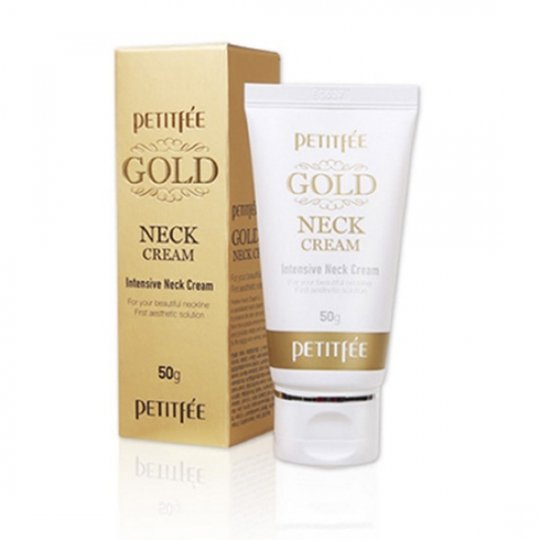 Крем для шеи PETITFEE Advanced Gold Neck Cream